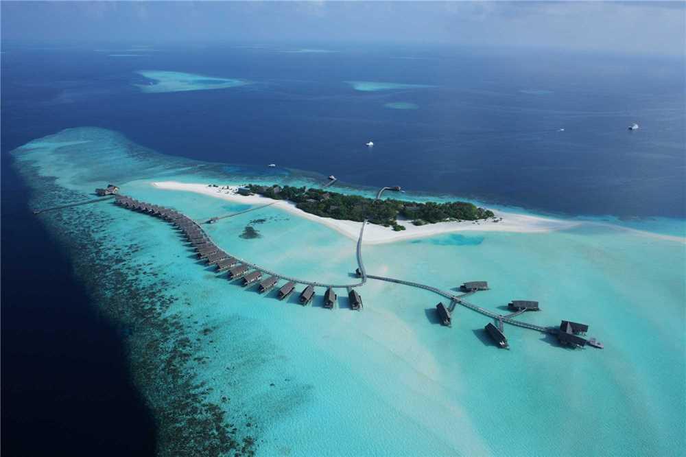 Como Cocoa Island Luftaufnahme