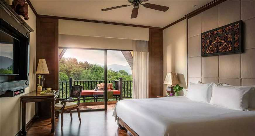Anantara Golden Triangle Elephant Camp & Resort Doppelzimmer