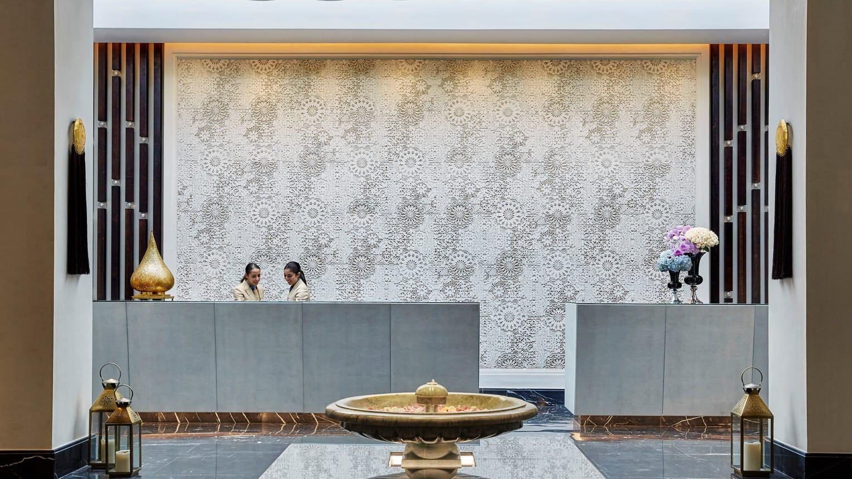 Four Seasons Hotel Casablanca Rezeption