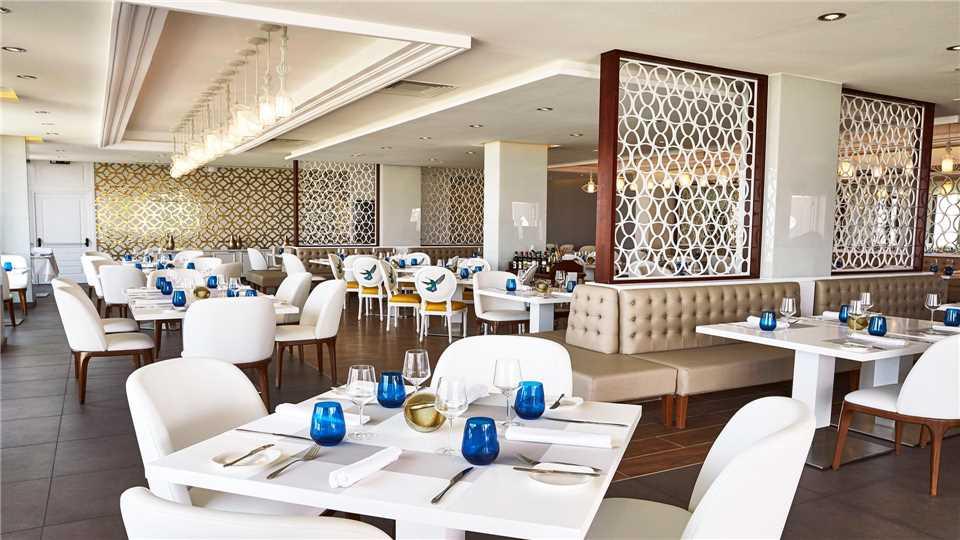 Gran Hotel Manzana Kempinzki la Habana Restaurant San Cristobal