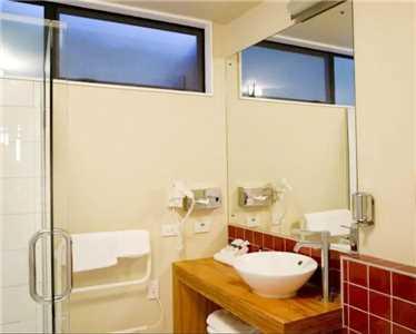 Punakaiki Resort Badezimmer