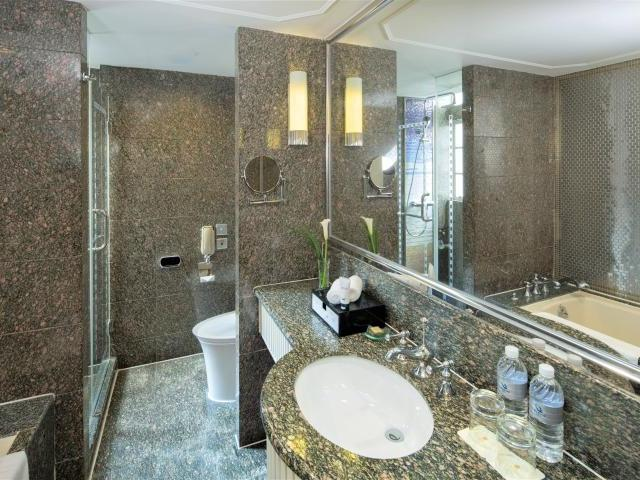 Jin Jiang Hotel Shanghai Badezimmer
