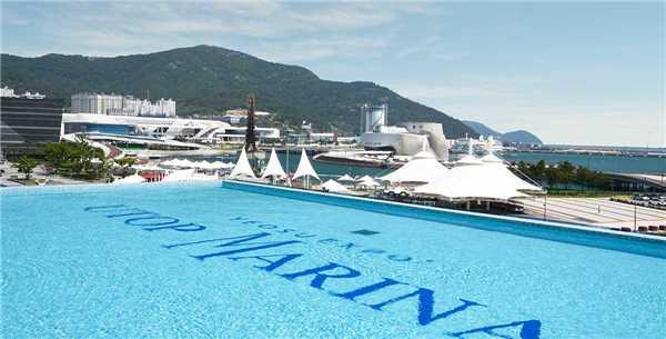 UTOP Marina Hotel & Resort Yeosu Expo Pool