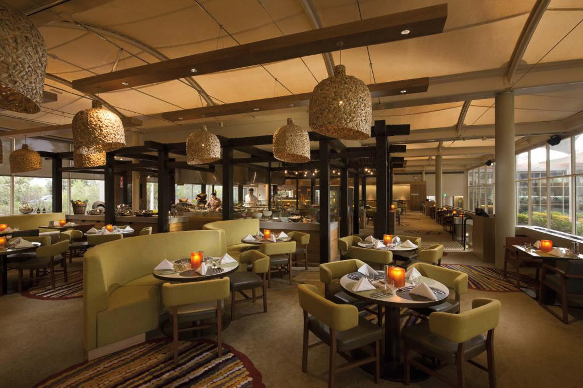 Sails in the Desert Restaurantbereich