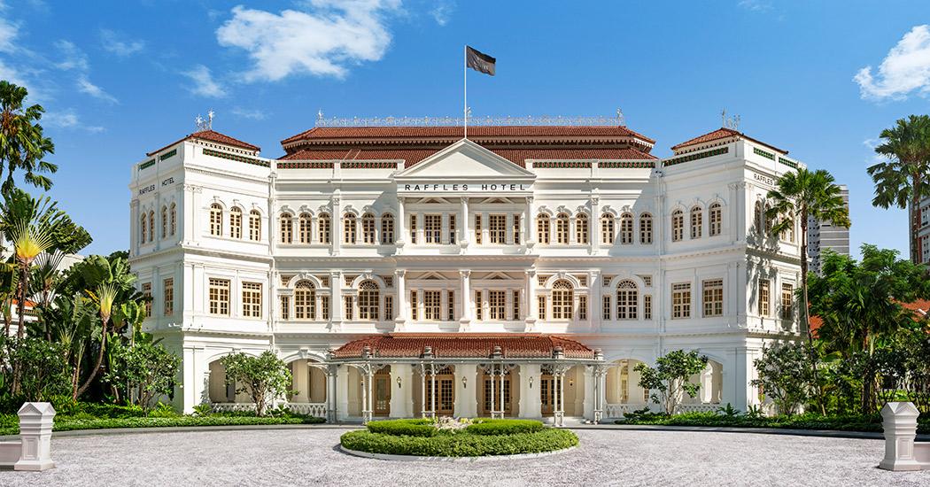 Raffles Singapore Außenansicht
