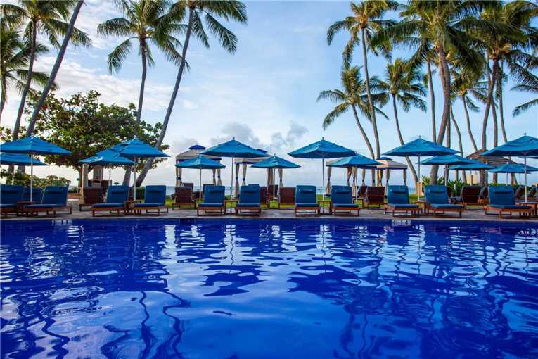 The Kahala Hotel and Resort Pool
