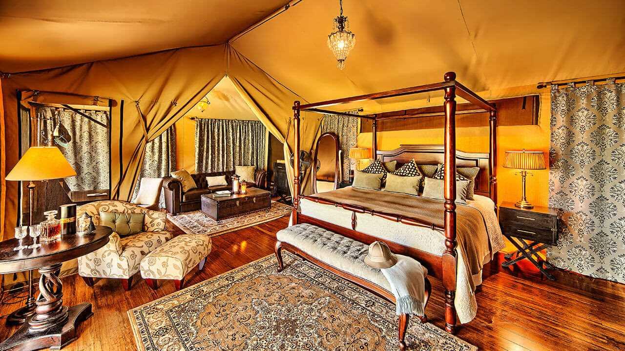The Manor at Ngorongoro Zimmerblick
