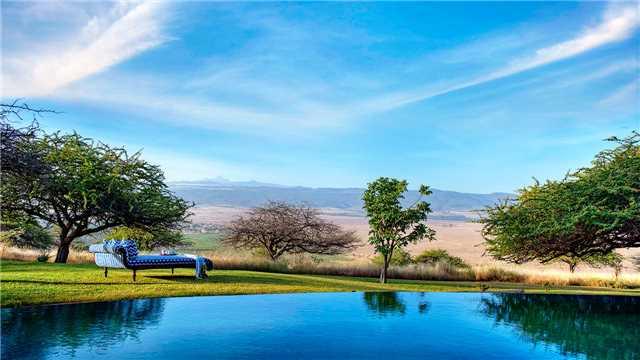 The Manor at Ngorongoro Pool