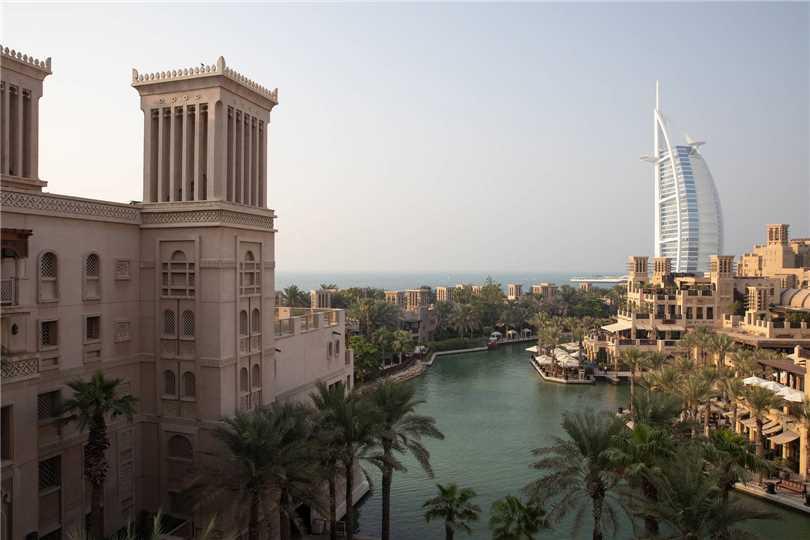 Jumeirah Al Qasr Hotelansicht