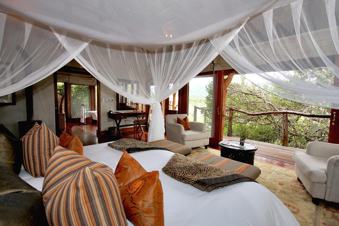 Msenge Bush Lodge Room