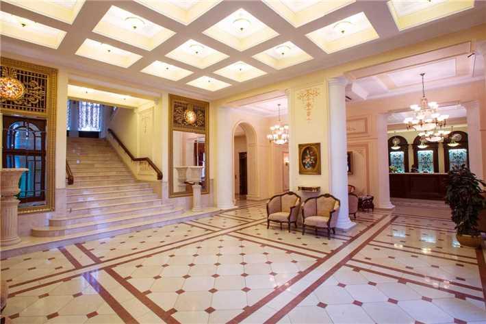 Hotel Wolgograd Eingangsbereich