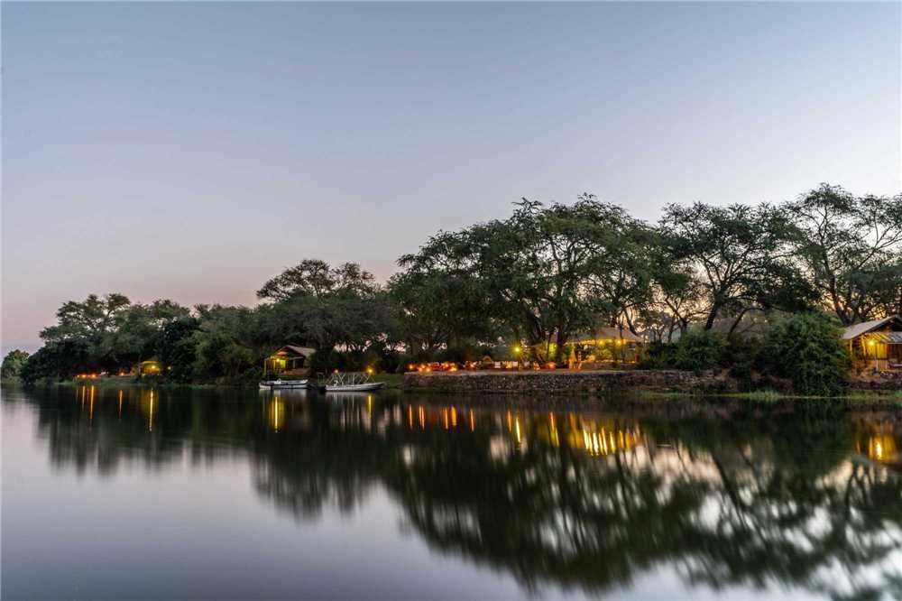 Chongwe River Camp Außenansicht