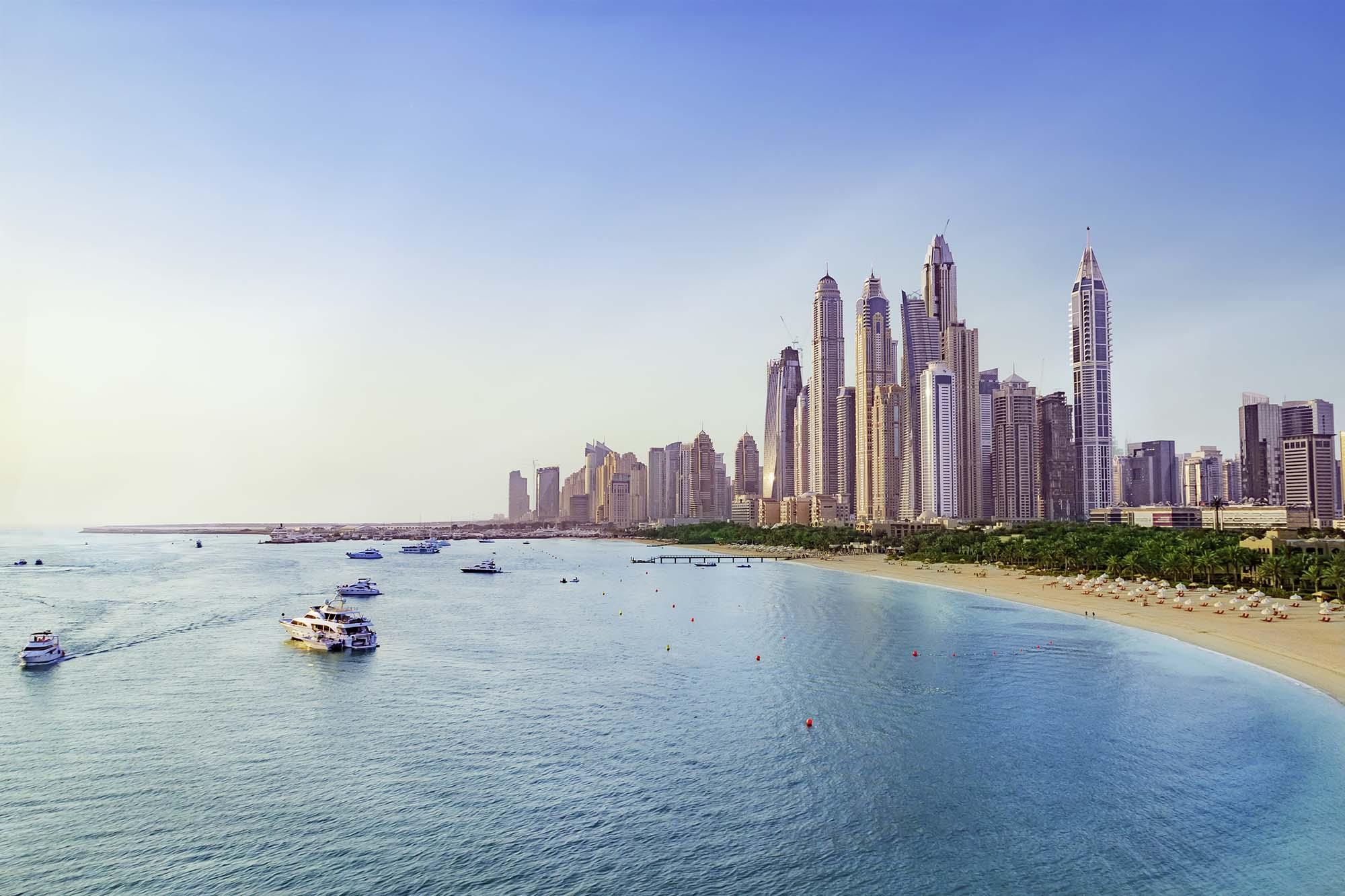 Jumeirah at Etihad Towers Außenansicht