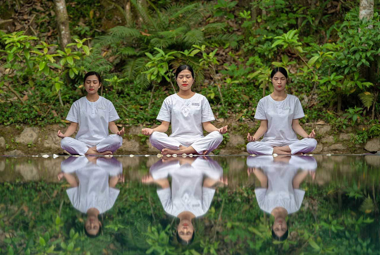 Pilgrimage Village Boutique Resort & Spa Yoga