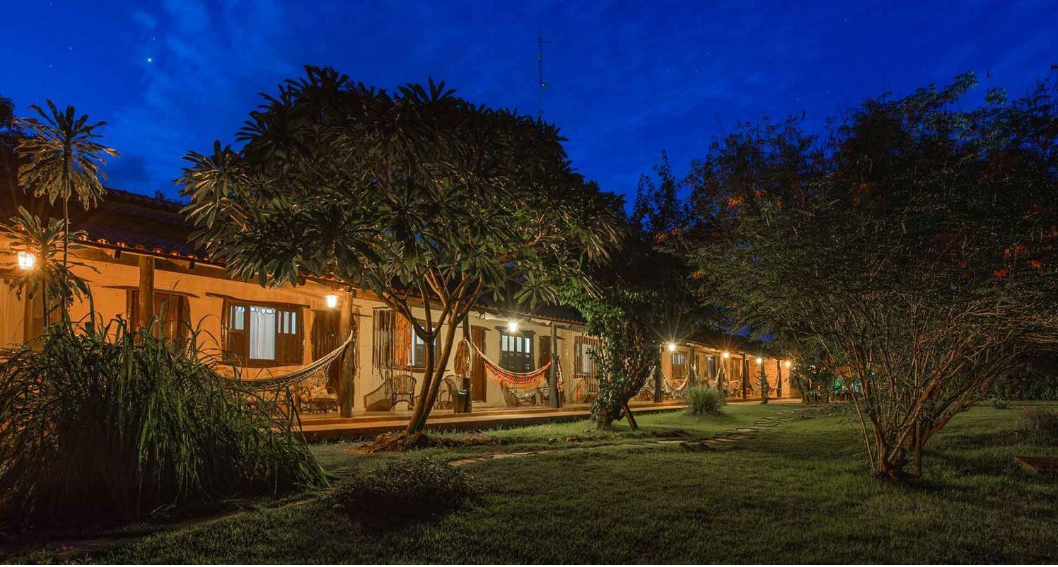 Araras Eco Lodge Außenansicht