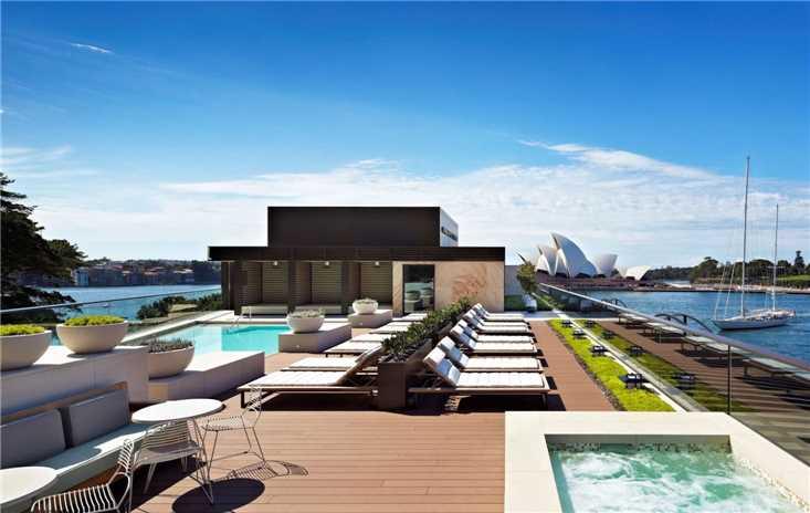 Park Hyatt Sydney Pool