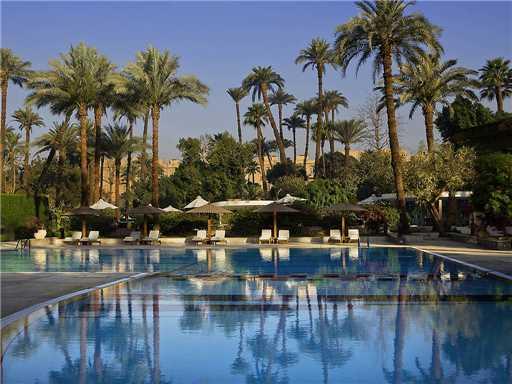 Sofitel Luxor Winter Palace Pool