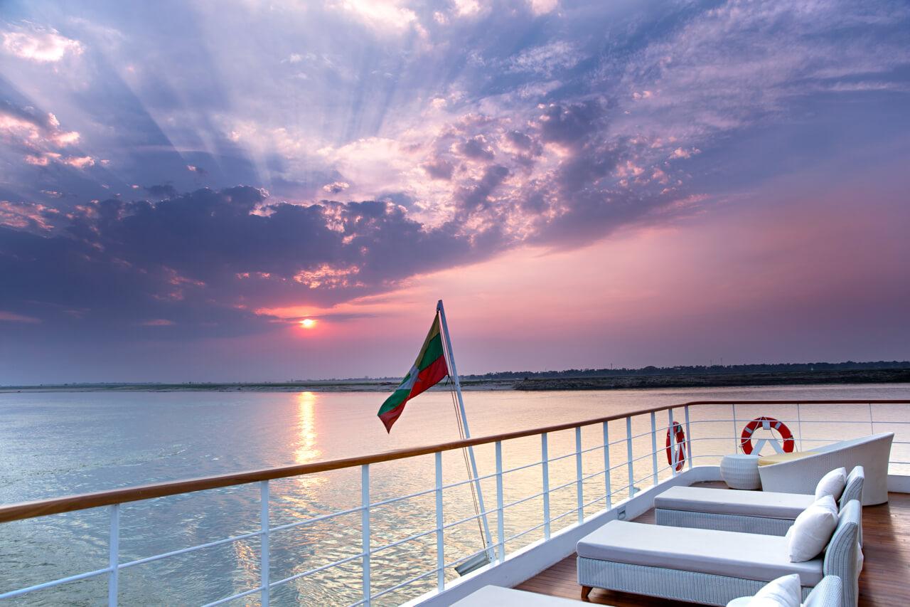 The Strand Cruises Deck