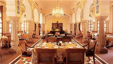 The Oberoi Rajvilas Restaurant