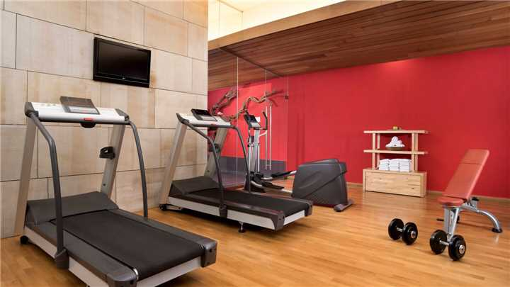 Hotel Marques de Riscal Fitnessbereich