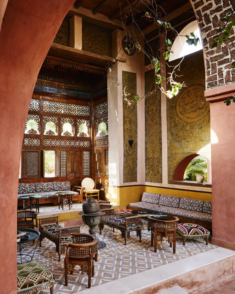 Al Moudira Hotel Sitzbereich