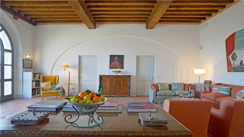 Villa La Limonaia Wohnzimmer - Toskana