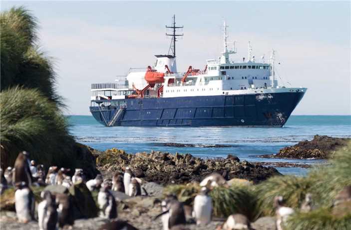 Oceanwide Expeditions MS Ortelius Aussenansicht