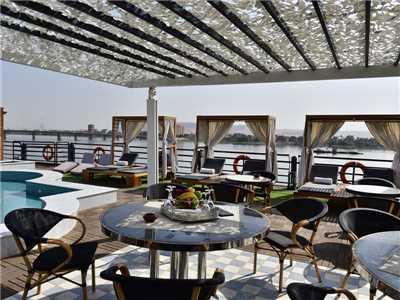 Mayfair Cruises MS Mayflower Deck
