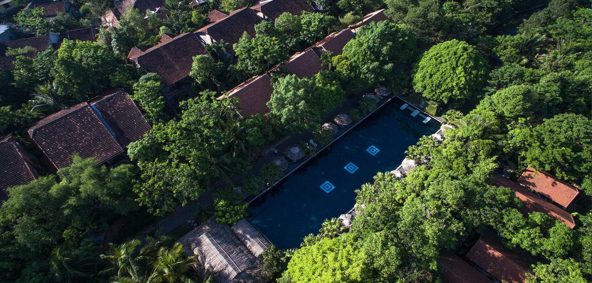 Pilgrimage Village Boutique Resort & Spa Arial