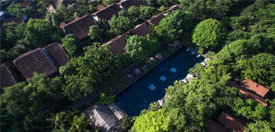 Pilgrimage Village Boutique Resort & Spa Arial