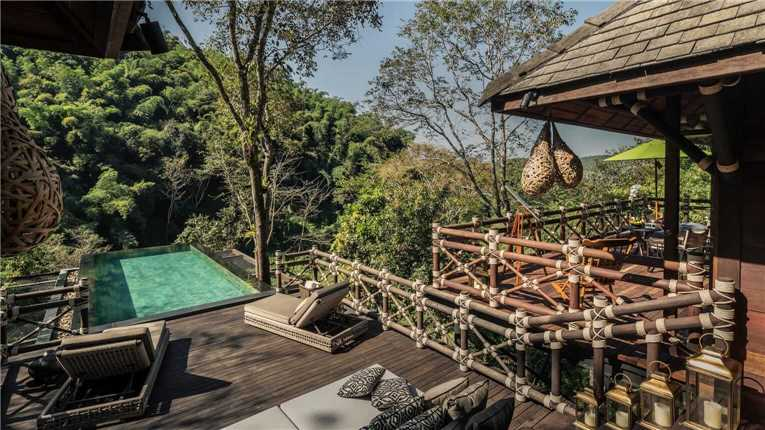 Four Seasond Tented Camp Golden Triangle Pool