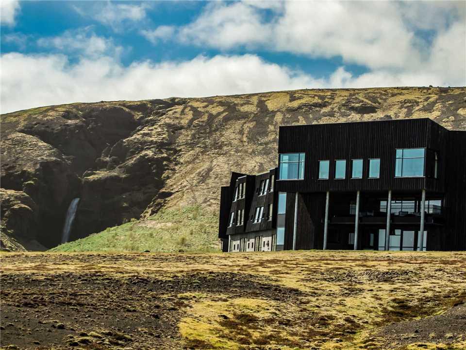 Fosshotel Glacier Lagoon Außenansicht
