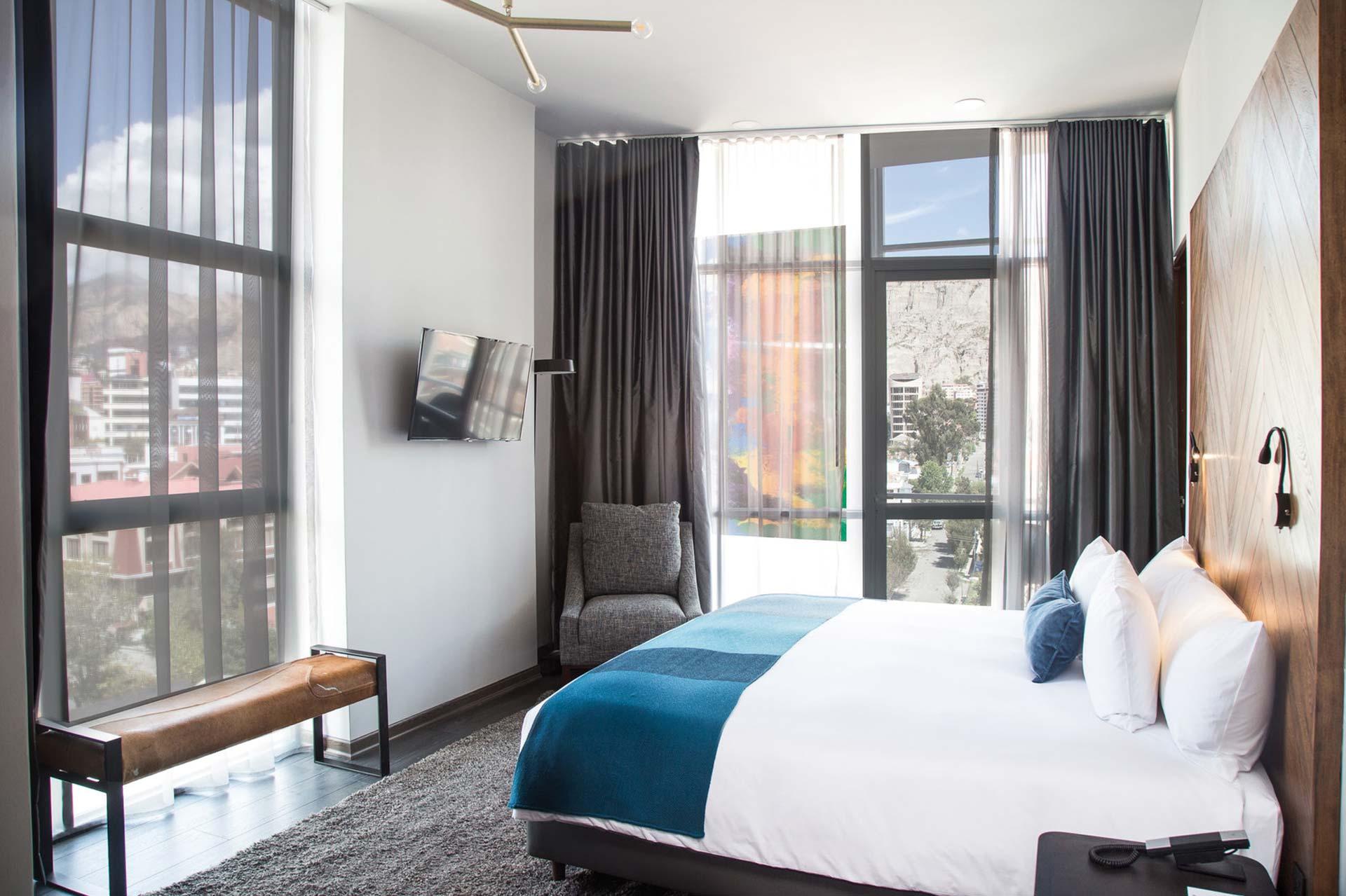 Atix Hotel Zimmeransicht
