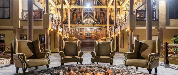 Epacha Game Lodge & Spa Lobby