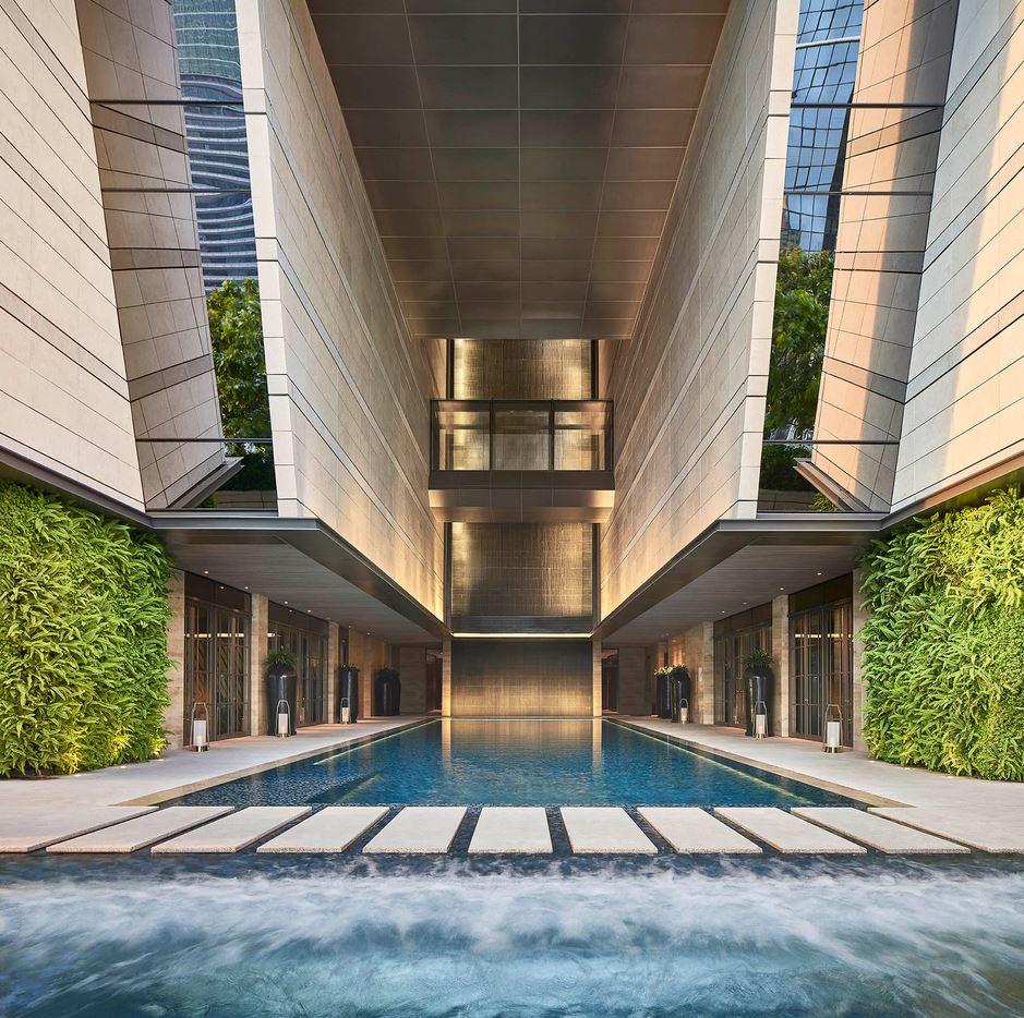 Rosewood Bangkok Pool