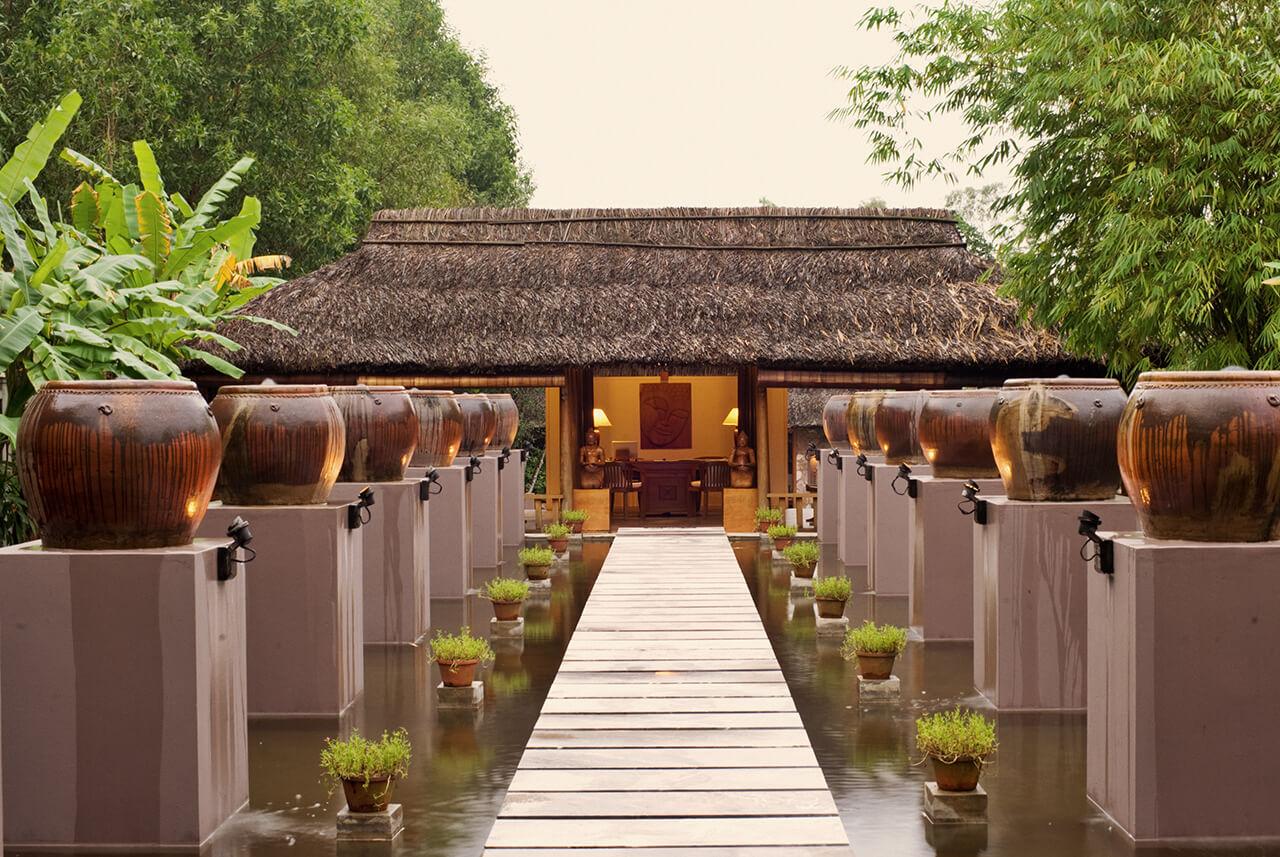 Pilgrimage Village Boutique Resort & Spa Spa Lobby