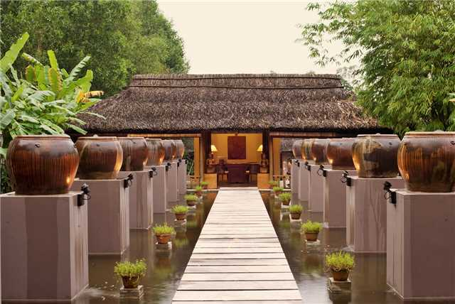 Pilgrimage Village Boutique Resort & Spa Spa Lobby