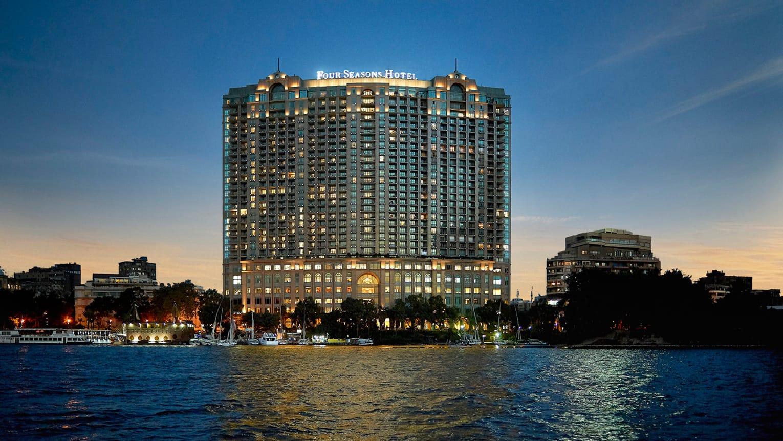 Four Seasons Hotel Cairo at Nile Plaza Außenansicht