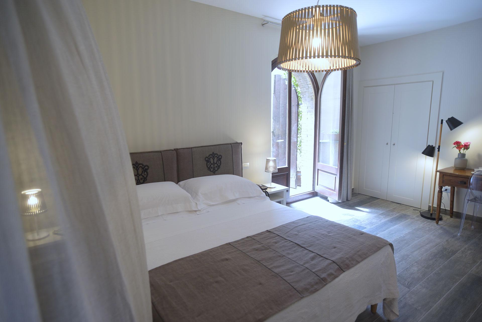 Palazzo Piccolomini Doppelzimmer