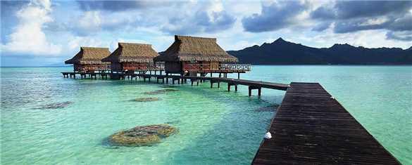 Vahine Private Island Resort Overwater Bungalow