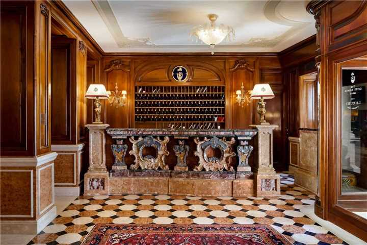 The Gritti Palace Empfangsbereich