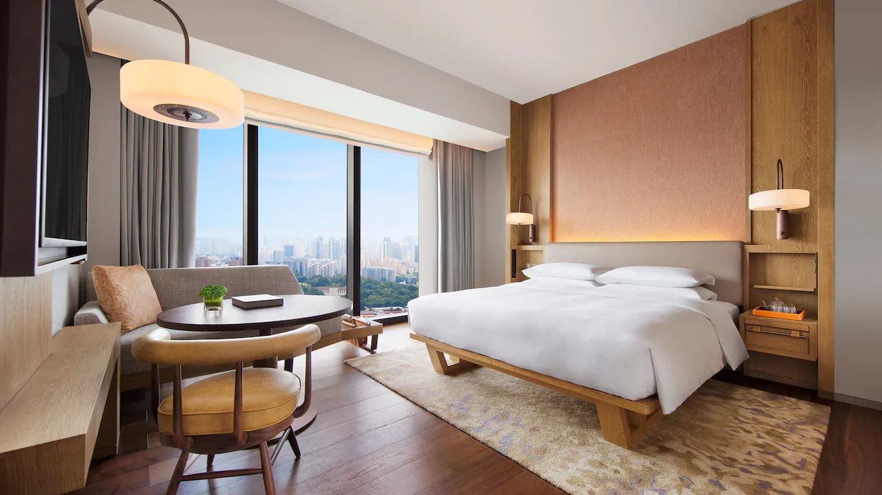 Andaz Singapore Doppelzimmer