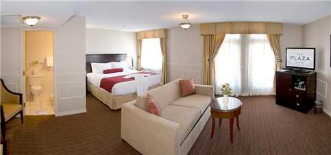 The Plaza Hotel Doppelzimmer