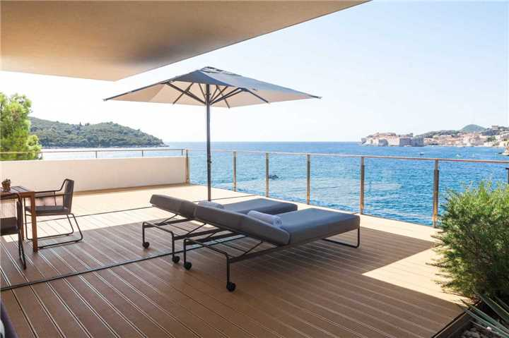Villa Dubrovnik Terrasse