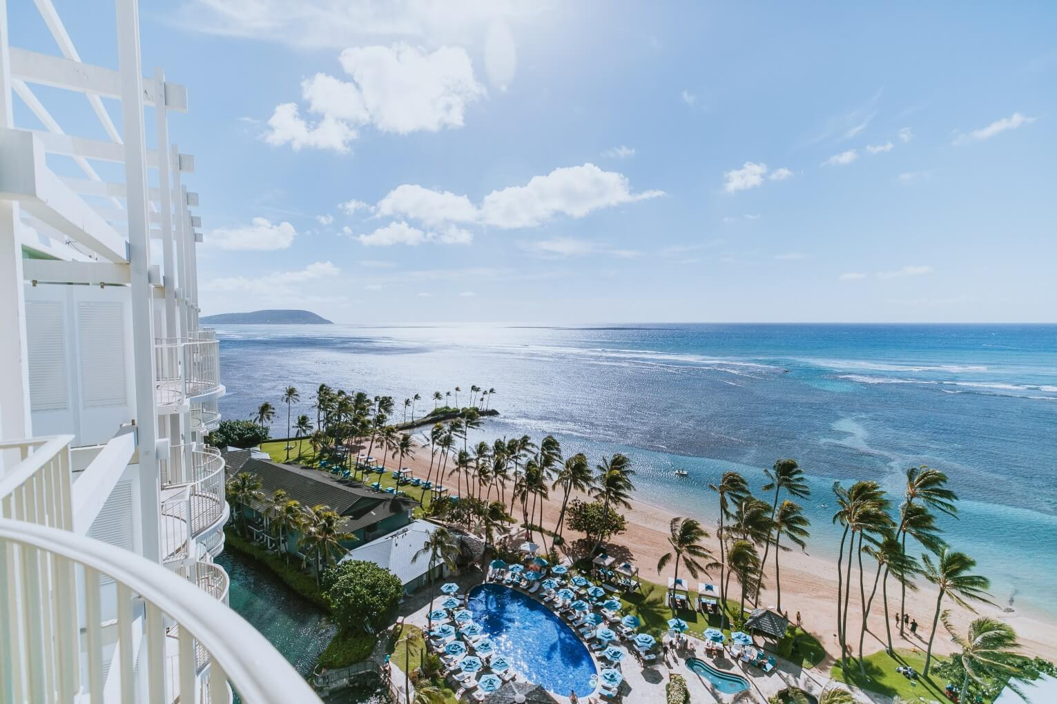 The Kahala Hotel and Resort Aussicht