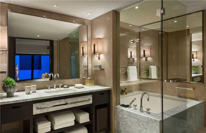 Rosewood Hotel Beijing Badezimmer