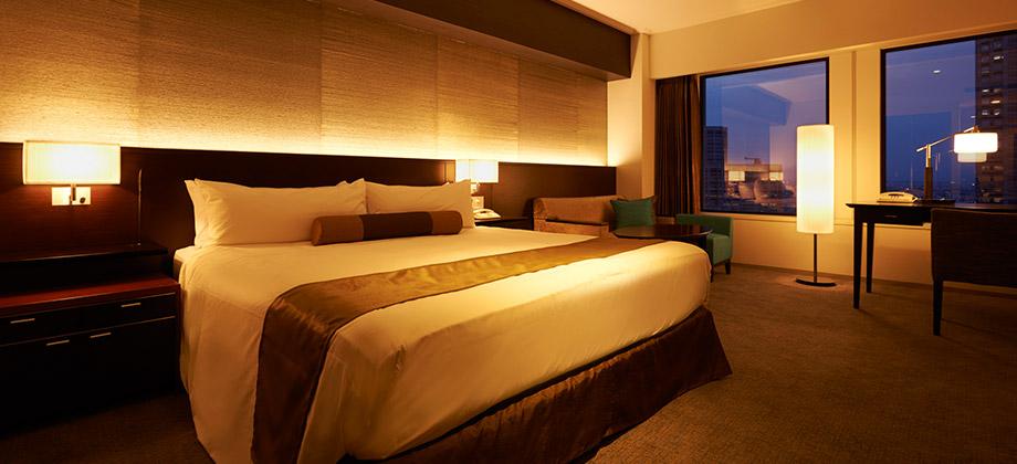 Keio Plaza Hotel Tokyo Zimmer