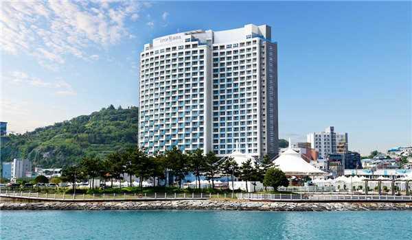 UTOP Marina Hotel & Resort Yeosu Expo Außenansicht