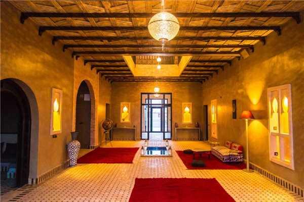 Riad Azawad Eingangsbereich