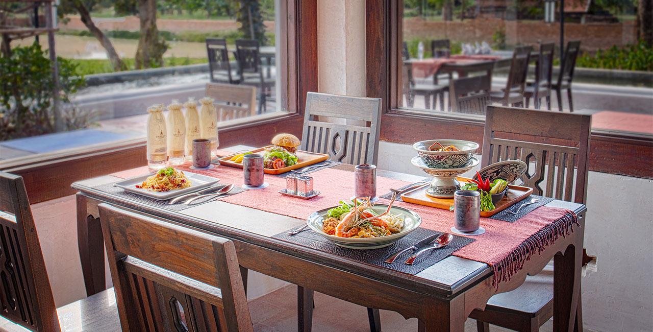 Sriwilai Sukhothai Resort & Spa Dinner